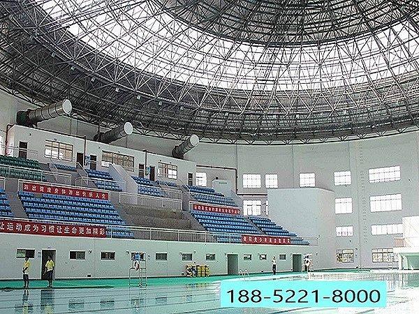 河南游泳馆网架